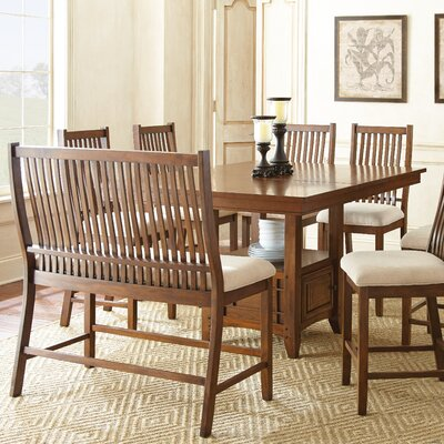 Kayan Counter Height Dining Table by Alcott Hill