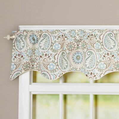 Floral Print Lined Duchess Filler Curtain Valance Product Photo