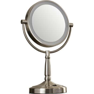 Alcott Hill Cordless Dual-Sided LED Lighted Vanity Mirror & Reviews Wayfair