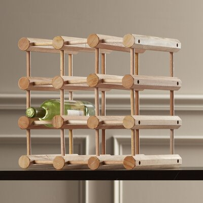 McCausland 12 Bottle Wine Rack by Charlton Home