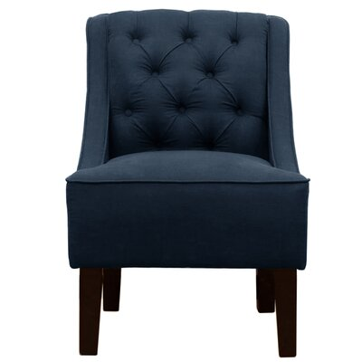 Tufted Swoop Arm Chair by Charlton Home