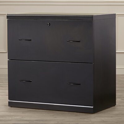 Bernewelt 2 Drawer Lateral File Cabinet by Charlton Home
