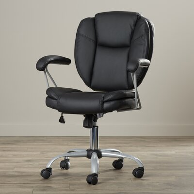 Myrick Executive Mid-Back Adjustable Office Chair by Varick Gallery
