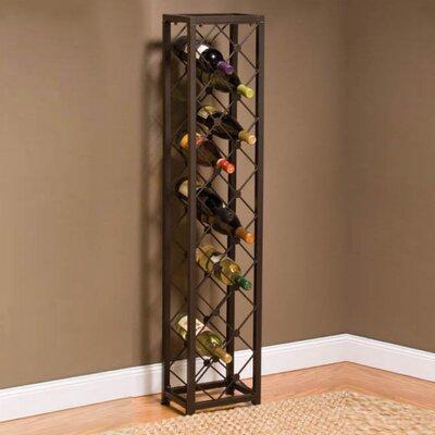 Iron 15 Bottle Wine Tower by Brayden Studio