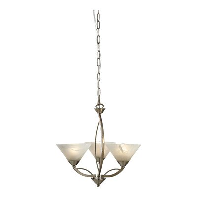Josephine 3-Light Chandelier Product Photo