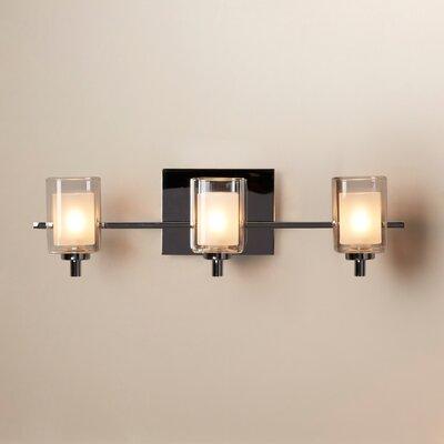King 3 Light Bath Vanity Light Product Photo