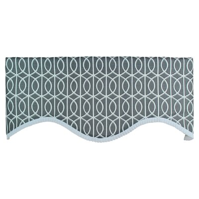 "Worle Cornice 50"" Curtain Valance Product Photo"