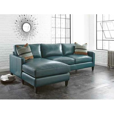 St. Croix Leather Sectional by Wade Logan