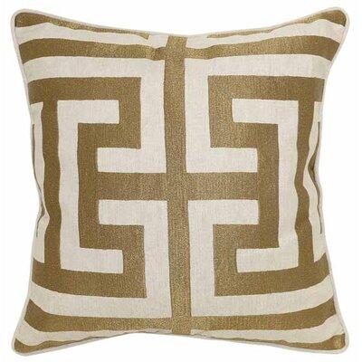 Capitale Cotton/Linen Throw Pillow by Wade Logan
