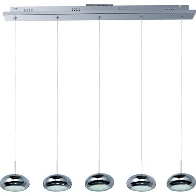 Dial 5 Light Pendant by Langley Street