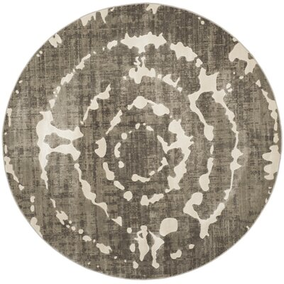 Porcello Gray/Ivory Area Rug by Langley Street