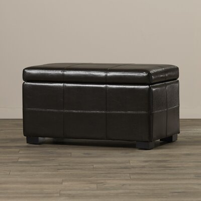 Evonne Leather Storage Ottoman by Langley Street