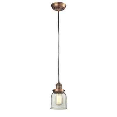 Glass Bell 1 Light Mini Pendant Product Photo
