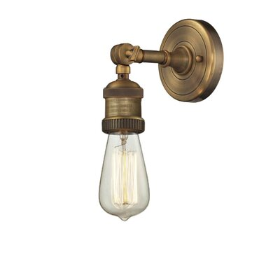 Wall Sconce Bulb Cover : Innovations Lighting 1 Light Bare Bulb Wall Sconce & Reviews Wayfair