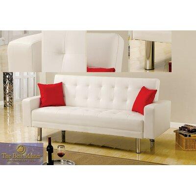 Adjustable Futon Sleeper Sofa by BestMasterFurniture