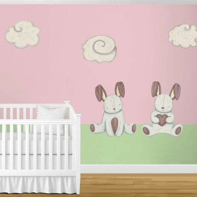 Bunny Rabbits and Cloud Wall Stickers by My Wonderful Walls