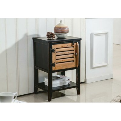 2 Tone 1 Door End Table by !nspire