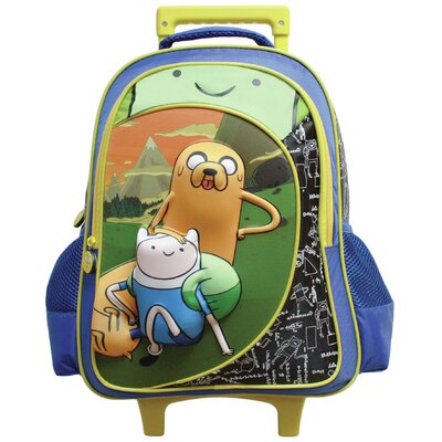 Trio Rolling Backpack by Adventure Time