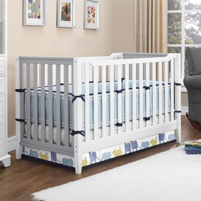 Aaden 3-in-1 Convertible Crib by Baby Relax