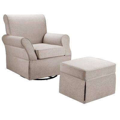 Baby Relax Baby Relax Kelcie Swivel Glider Chair & Ottoman