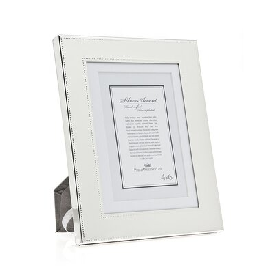 Fine Bead Picture Frame by Philip Whitney