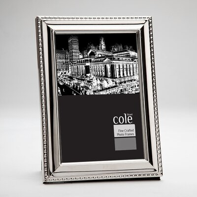 Bead Trim Picture Frame by Philip Whitney