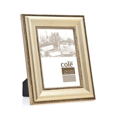 Bead Wood Picture Frame by Philip Whitney