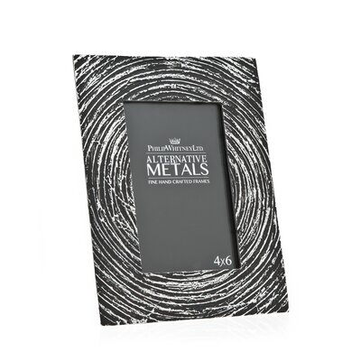 Alternative Metals Antique Spiral Picture Frame by Philip Whitney