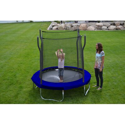 Kinetic 8' Trampoline and Enclosure Set Product Photo