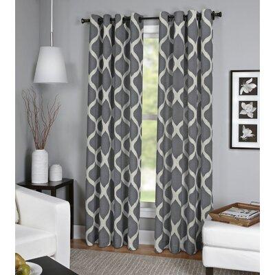 Luna Window Single Curtain Panel Product Photo