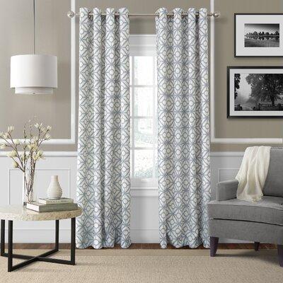 Crackle Single Curtain Panel Product Photo