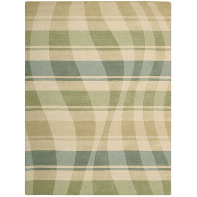 Elements Pg Aqua/Green Area Rug by Nourison