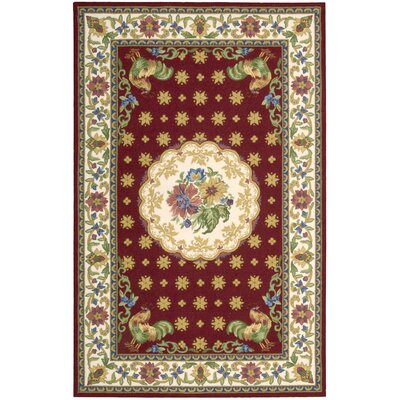 Country Heritage Red Rug by Nourison