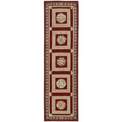 Versailles Palace Red Area Rug by Nourison