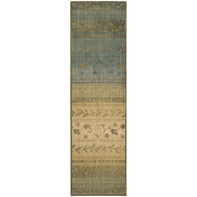Radiant Impressions Blue/Brown Area Rug by Nourison