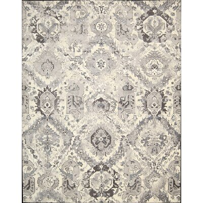 Twilight Ivory/Gray Area Rug by Nourison