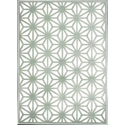 Ultima Ivory/Aqua Area Rug by Nourison