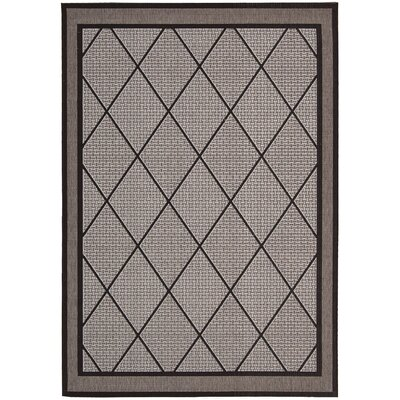 Eclipse Silver Outdoor Area Rug by Nourison