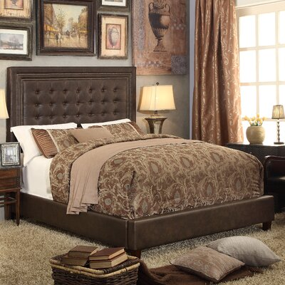 Hidalgo Upholstery Queen Platform Bed by Mulhouse Furniture