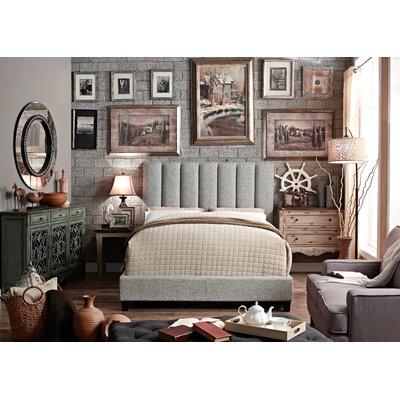 Isabel Upholstered Platform Bed by Mulhouse Furniture