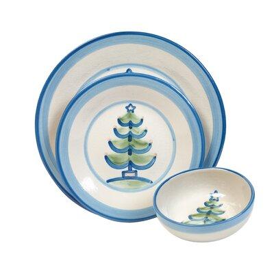 Christmas Tree 3 Piece Dinnerware Set by HadleyHouseCo