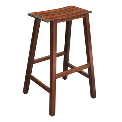 International Concepts Slat Seat 29 4 Quot Bar Stool Amp Reviews