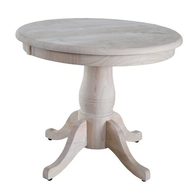 Round Pedestal Table by International Concepts