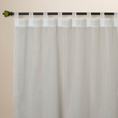 Point Isabel Tab Top Single Curtain Panel Product Photo