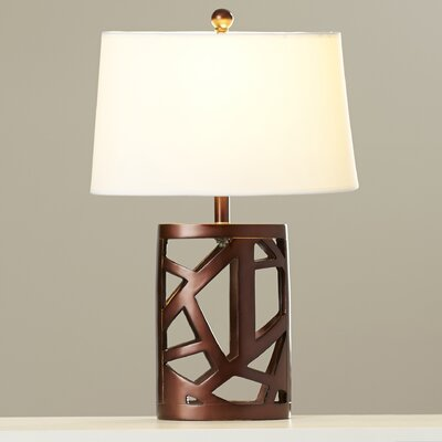 Trent austin design kaulton 25 5 h table lamp with empire for Lamp shades austin