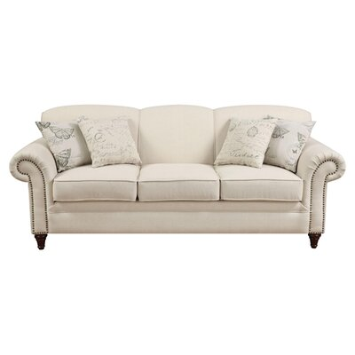 House Of Hampton Cosette Sofa In Oatmeal Amp Reviews Wayfair