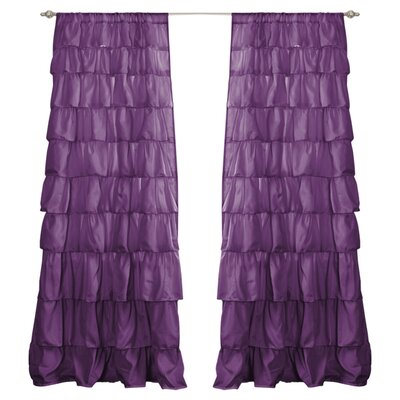 Sharpay Single Curtain Panel Product Photo