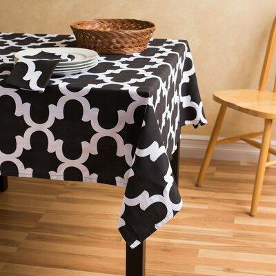 Trellis Square Cotton Tablecloth by Linen Tablecloth