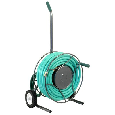 Lewis Lifetime Tools Rugged Compact Hose Reel