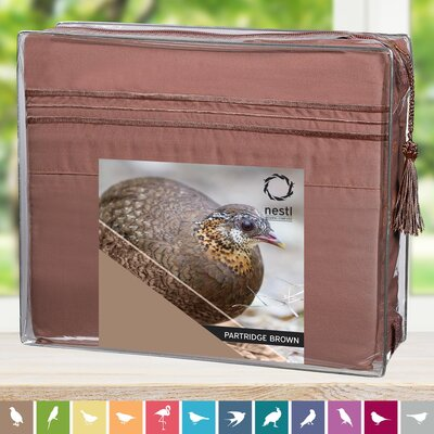 Partridge Bed Sheet Set by Nestl Bedding